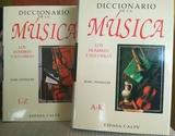 DICCIONARIO DE LA MÚSICA.  MARC HONEGGER - foto