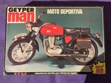 Moto deportiva de geyperman - foto