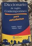 DICCIONARIO DE INGLÉS CONTEMPORÁNEO - foto