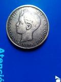 5 pesetas 1899 - foto
