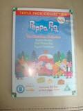 3 DVDs de Peppa pig en ingles - foto