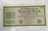 Billete 1.000 Marcos 1922 - foto