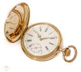 Precioso reloj de bolsillo oro -VENDIDO - foto