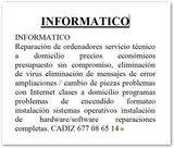 Informatico-reparacion de ordenadores - foto
