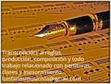 Arreglista, compositor y transcriptor - foto