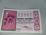 Décimo de lotería Nacional - foto
