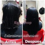 Colocacion Extensiones cabello natural - foto