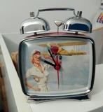 Reloj de campanas vintage aviadora - foto