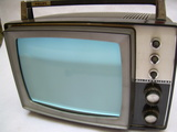 Antiguo televisor portatil philips 1969 - foto