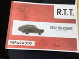 SEAT 850 SPORT COUPE MANUAL DESPIECE - foto