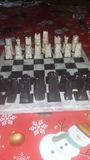 ajedrez de onix - foto