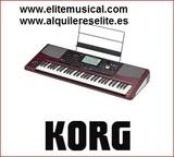 Korg PA 1000 ritmos y estilos - foto