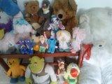 Lote muñecos de peluche - foto