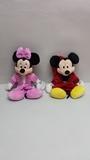Peluche Minnie y Mickey de Disney - foto