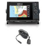 SIMRAD CRUISE 7 ROW + TRANSDUCTOR - foto