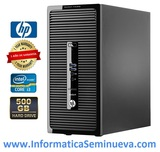 HP PRODESK400 G2 i3 3.5GHZ RAM4GB  500HD - foto
