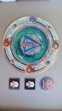 Puzzle de amuleto y fichas - foto