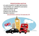 CLASES PARTICULARES INGLES - foto