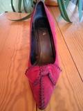 Zapatos ante. - foto
