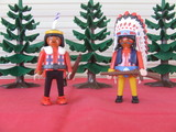 Playmobil oeste indios sioux - foto