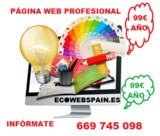 TÚ web -99 euros- sin cuota mensual - foto