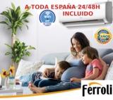 SPLIT WIFI A++ FERROLI DIAMANT S 3000 FR - foto