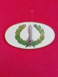 Antigua placa Militar - foto