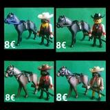 Playmobil Sheriff A Caballo El Paso 8 /U - foto