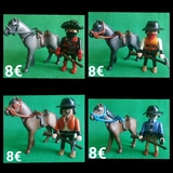 Playmobil Bandido a Caballo 8  casilla - foto