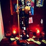 Tarot, la santa muerte, tarot mexicano - foto