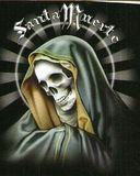La santa muerte, tarot mexicano - foto