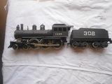 Locomotora en escala 0 - foto