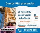 CURSO 20 H PRL CONSTRUCCION ALBAÑILERIA - foto