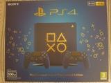 Playstation 4 slim azul + 2 mandos - foto