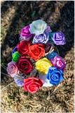 Rosas goma eva - foto