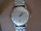 Reloj antiguo de cuerda certina años 40 - foto