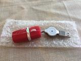 Gracioso Mini Ratón Óptico USB - foto