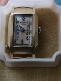 Antiguo reloj pulsera mujer Ancora oro - foto