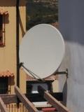 Parabólica 1.30 m de diámetro. - foto