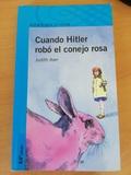 CUANDO HITLER ROBÓ EL CONEJO ROSA - foto