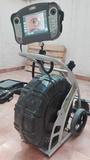 Inspección de tuberías con cámara TV. - foto