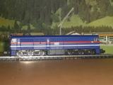 Locomotora diesel mf train, escala n. - foto
