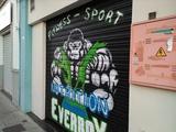 Decoración graffitis pintor grafity graf - foto