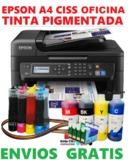 Epson WF-2630 A4 CISS tinta Pigmentada - foto