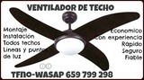 Instalación ventilador techo-ILLESCAS - foto