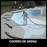 chorro arena tubos - foto