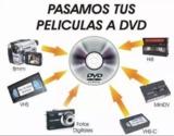 Paso cintas a dvd - vhs, , hi8, , minidv - foto