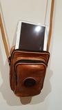 bandolera de cuero x tablet - foto