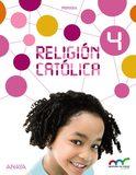 RELIGION CATOLICA 4 PRIMARIA ANAYA - foto