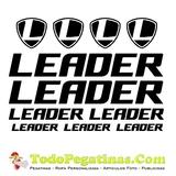 pliego leader sticker logo bicicleta cas - foto